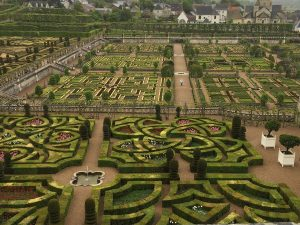Love in France: The Garden of Villandry Chateau